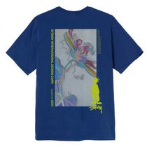 STUSSY More T-Shirts Unisex Street Style Cotton Short Sleeves Skater Style 7