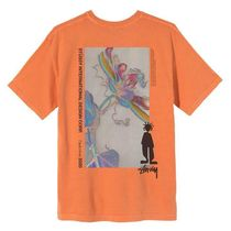 STUSSY More T-Shirts Unisex Street Style Cotton Short Sleeves Skater Style 10