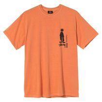 STUSSY More T-Shirts Unisex Street Style Cotton Short Sleeves Skater Style 11