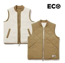 THE NORTH FACE Street Style Logo Vest Jackets