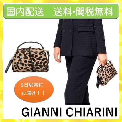 Leopard Patterns Casual Style 2WAY Office Style