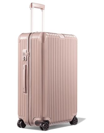 RIMOWA ESSENTIAL Unisex Street Style Hard Type TSA Lock Co-ord Icy Color