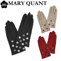 MARY QUANT Flower Patterns Wool Gloves Gloves