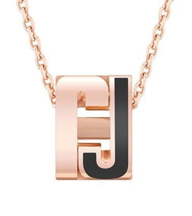 Costume Jewelry Casual Style Initial Studded Party Style