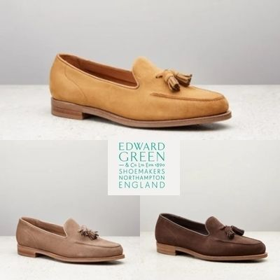 Moccasin Suede Plain Loafers & Slip-ons