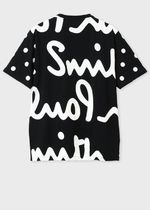 Paul Smith Crew Neck Crew Neck Pullovers Dots Street Style Cotton Short Sleeves 4