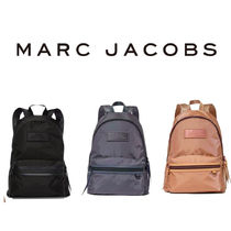 MARC JACOBS Casual Style Unisex Nylon Street Style A4 Plain Party Style