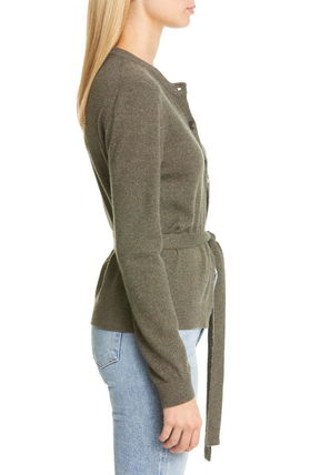 Casual Style Long Sleeves Cardigans