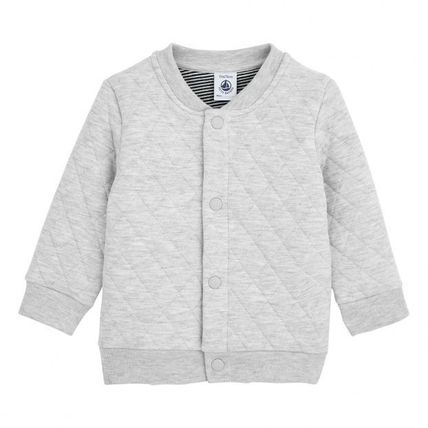 Unisex Front Button Kids Girl Outerwear