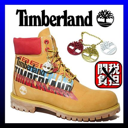 Timberland Mountain Boots Leather Logo Outdoor Boots