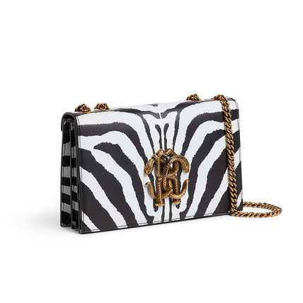 Crossbody Bridal Logo Zebra Patterns Casual Style