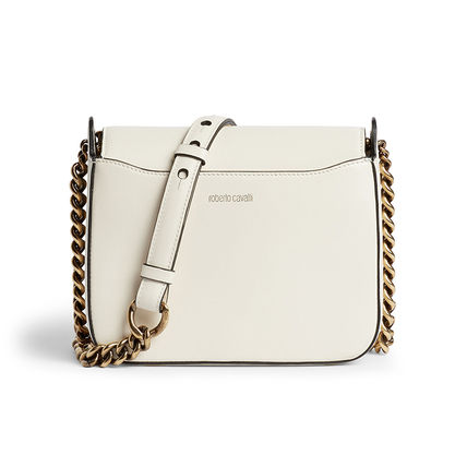 Crossbody Bridal Casual Style Blended Fabrics Chain Plain