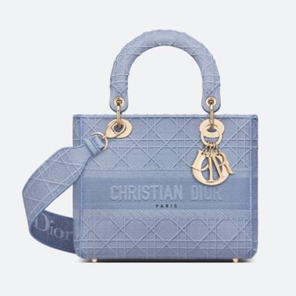 Christian Dior Casual Style Blended Fabrics Street Style 2WAY Party Style