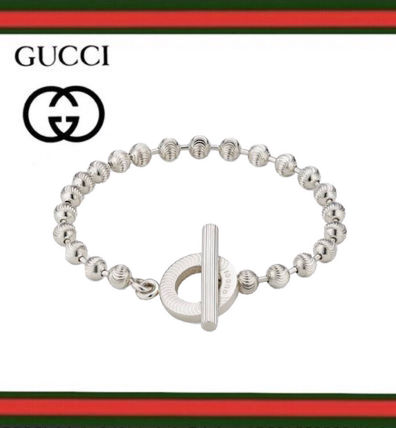 GUCCI Casual Style Silver Office Style Elegant Style Bracelets