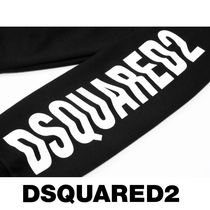 D SQUARED2 Sweatshirts Unisex Street Style U-Neck Long Sleeves Logos on the Sleeves 5