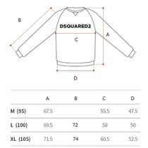 D SQUARED2 Sweatshirts Unisex Street Style U-Neck Long Sleeves Logos on the Sleeves 7