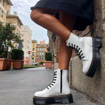 Dr Martens JADON Casual Style Unisex Street Style Leather Mid Heel Boots