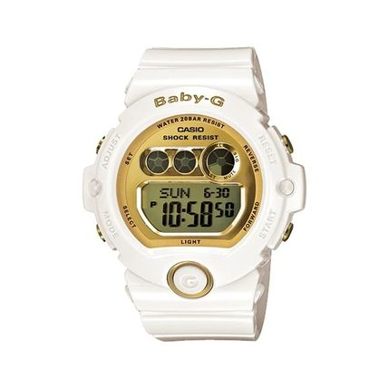 CASIO Casual Style Street Style Silicon Round Office Style