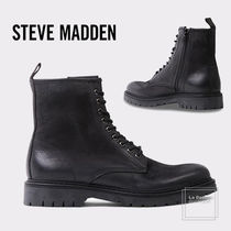 Steve Madden Straight Tip Plain Leather Chelsea Boots Chelsea Boots