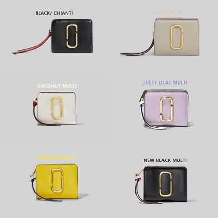 MARC JACOBS Leather Logo Card Holders