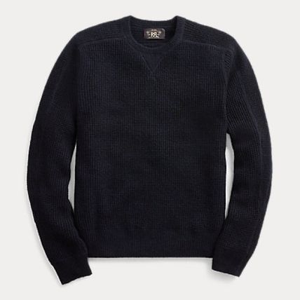 RRL Surf Style Crew Neck Cashmere Long Sleeves Sweaters
