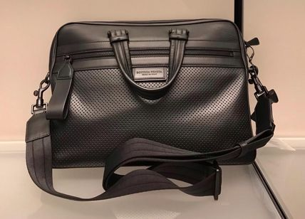 BOTTEGA VENETA Calfskin A4 2WAY Plain Business & Briefcases