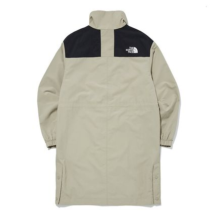 THE NORTH FACE SNOW CITY Casual Style Unisex Street Style Long Logo Coats