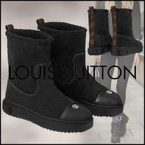 Louis Vuitton MONOGRAM Breezy Flat Ankle Boot
