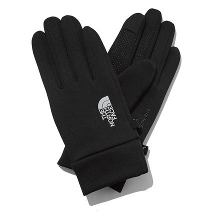 THE NORTH FACE WHITE LABEL Unisex Street Style Cotton Logo Gloves Gloves