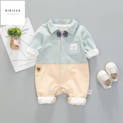 PatPat Front Button Baby Boy Bodysuits & Rompers