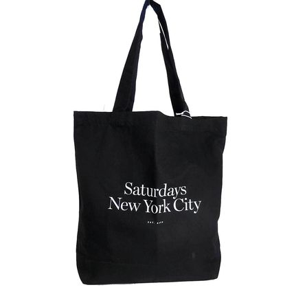 Canvas A4 Plain Logo Totes