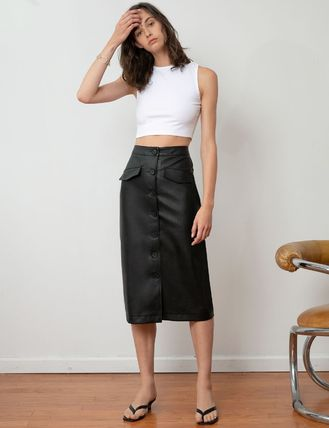 Flared Skirts Casual Style Pleated Skirts Medium Party Style