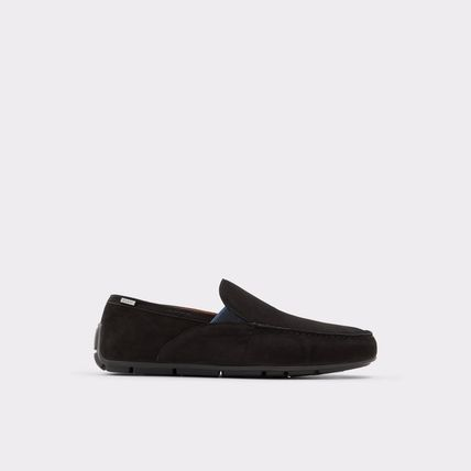 Driving Shoes Plain Leather U Tips Loafers & Slip-ons