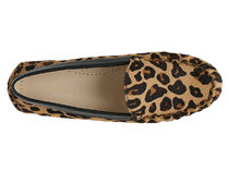 Cole Haan Leopard Patterns Rubber Sole Casual Style Spawn Skin Flats