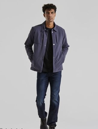 Nylon Plain Jackets