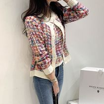 Other Plaid Patterns Casual Style Tweed Long Sleeves Medium