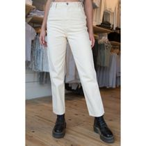 Brandy Melville Casual Style Street Style Plain Cotton Long Office Style