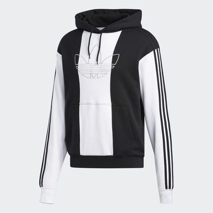 adidas Hoodies Unisex Long Sleeves Logo Hoodies 2