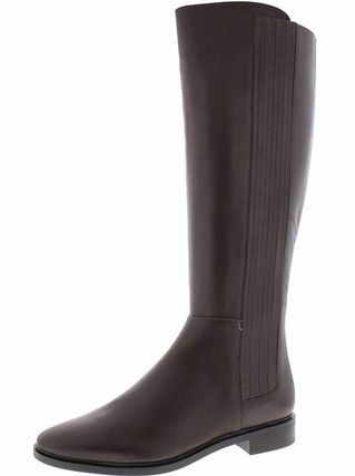 Calvin Klein Leather Flat Boots