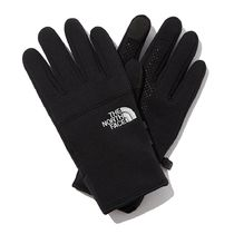 THE NORTH FACE Unisex Street Style Cotton Logo Gloves Gloves