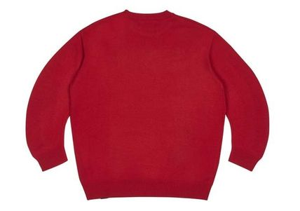 BOY LONDON Sweaters Crew Neck Pullovers Star Unisex Street Style Long Sleeves 3