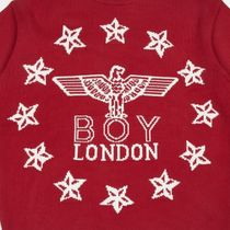 BOY LONDON Sweaters Crew Neck Pullovers Star Unisex Street Style Long Sleeves 5