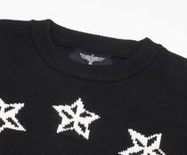 BOY LONDON Sweaters Crew Neck Pullovers Star Unisex Street Style Long Sleeves 10