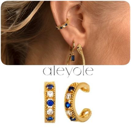 Costume Jewelry Casual Style 18K Gold Office Style