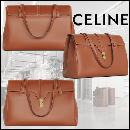 CELINE 16 Large Soft 16 Bag In Smooth Calfskin