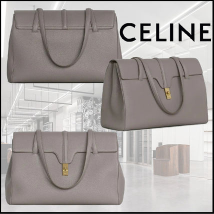 CELINE 16 Large Soft 16 Bag In Supple Grained Calfskin