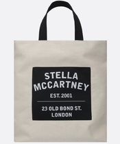 Stella McCartney STELLA LOGO Casual Style Faux Fur Blended Fabrics Street Style 3WAY