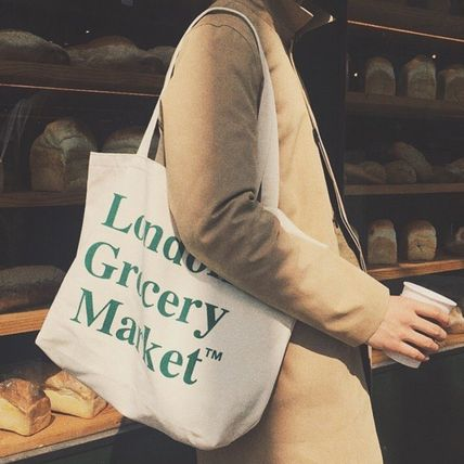 London Grocery Market Totes Casual Style Totes 3