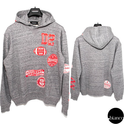 D SQUARED2 Logo Luxury Sweat Long Sleeves Cotton Street Style