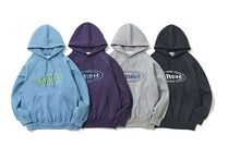 KIRSH Street Style Long Sleeves Cotton Hoodies & Sweatshirts